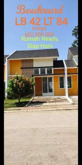 Rumah Ready Serpong Garden Village Dekat Stasiun Parung Panjang