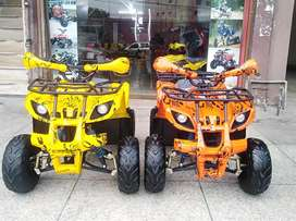 Power full 125cc Engine Atv Quad 4 wheel Bike Suitable for Teenagers