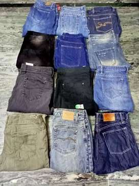 Export branded jeans available