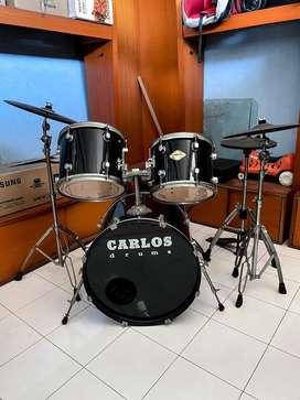 Drum Set Carlos ( Black ) mulus