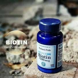 puritan biotin 7500 mcg 100 tab diskon