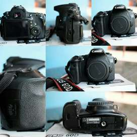 Kamera Canon 60D DSLR Body Only