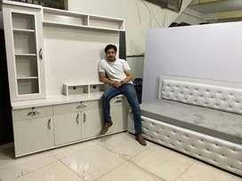 Best for hall setup sofa cum diwan + TV Unit