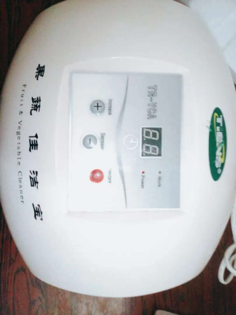 Ozone O³ Vegetable & Meat Cleaner 0