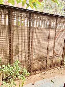 Strong iron net jali' 24.5 feet * 4.5 feet