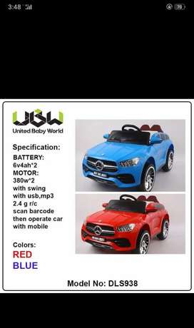 We've all kinds of imported battery operated cars and bikes are