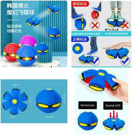 Mainan Magic Flying Saucer Ball / Mainan Bola  terbang