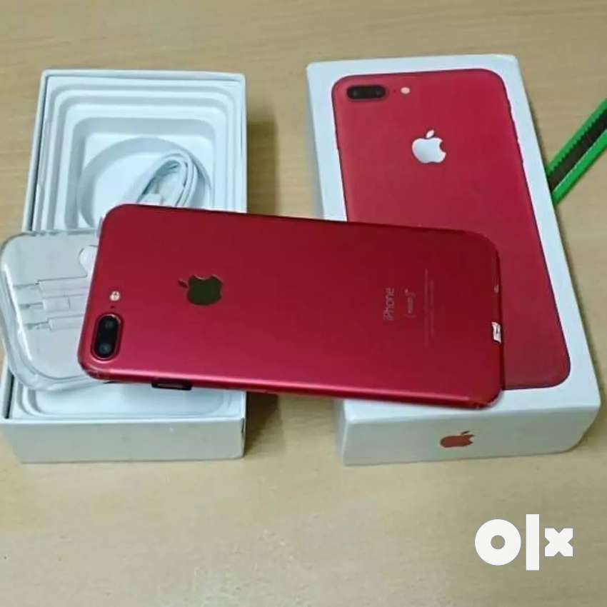 I phone 7 plus red colour with refurbished 0