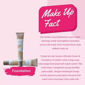 JAZEERA ULTIMATE CREAM & FOUNDATION