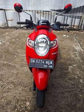 Dijual Motor Honda Scoopy