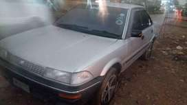 8a engine no dent paint only shower for fresh look, alloy rim new tyre