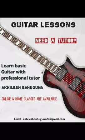 Guitar home classes