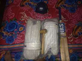 Hrs cricket kit with helmet