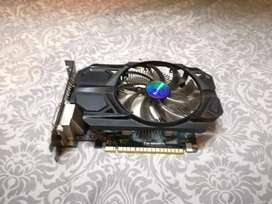 GTX 750Ti Gigabyte 2GB OC EDITION GRAPHICS CARD FOR GAMING FAULTED