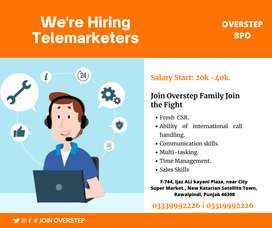 Hiring CSR - Overstep Bpo (Batch December 2020)