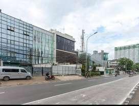 DIJUAL atau DISEWAKAN Gedung Kantor 5 lantai yang baru selesai direnov