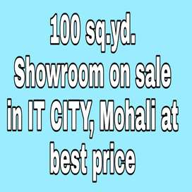 100 gaj Showroom is available at best price in IT CITY, Mohali