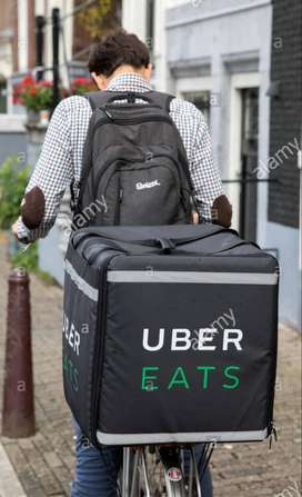 Hiring for food delivery executives - Uber Eats