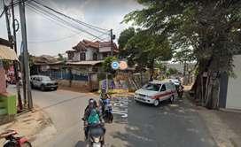 Tanah Strategis Dipertigaan Jln Raya Setu FREE Jasa Design Arsitektur