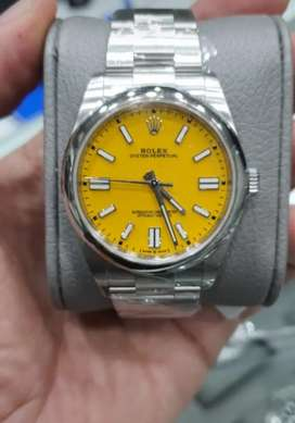 Rolex Red Dial 41mm And Yellow Dial