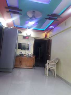 Semi - Furnished 1 bhk flat for sale in kamothe sector - 9