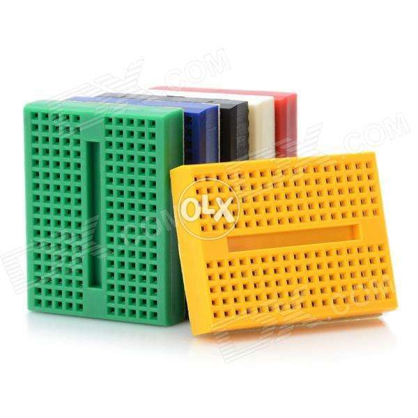 Mini breadboard for circuits making and more 0