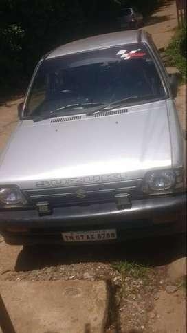 Maruti 800 in good condition