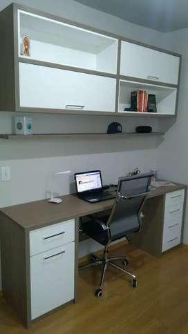 Meja kerja minimalis Hpl