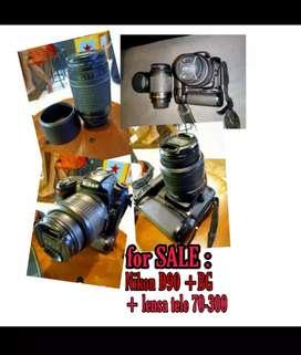 Kamera DSLR NIKON D90 KIT