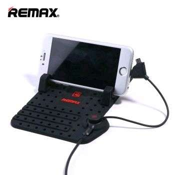 Remax Super Flexible Car Holder with Micro USB & Lightning Charger 0