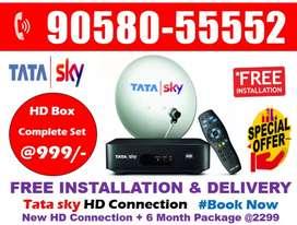Special Thanks Offer - Tata sky HD Tatasky Airtel DishTV HD Book Now!!