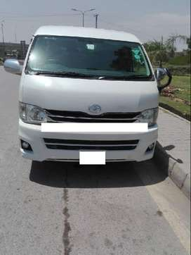 TOYOTA HIACE  2012 AUTOMATIC ON EASY INSTALLMENT