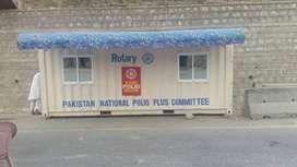 High Quality Prefab Security Cabin, bullet proof cabin in Peshwar 480