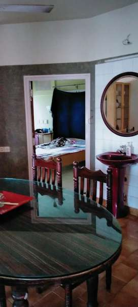 Roommates needed 2 bhk flat with attached bathroom