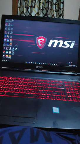 MSI gl63 8rd i7 8750h with Geforce gtx 1050ti graphics
