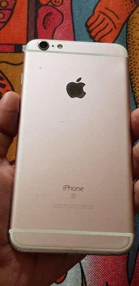 Iphone 6s plus 64 gb rosegold