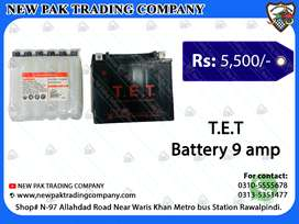 HEAVY BIKE DRY BATTERY