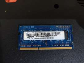 DDR3 2GB RAM LAPTOP