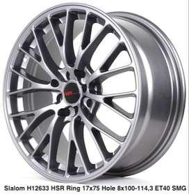 SLALOM 12633 HSR R17X75 H8X100-114,3 ET40 SMG