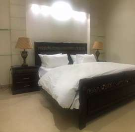 Dha New guest house z block only families daily rent