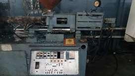 100 ton Injection Moulding machine, Air compressor,  25 kg mixer etc
