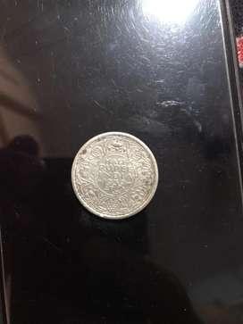 1939 half rupee Old coin rare coin