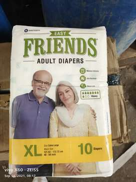 FRIENDS ADULT DIAPERS XL SIZE INR 3300 110 NOS
