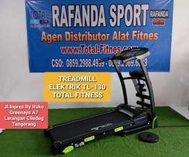 TL-130 Treadmill Elektrik  5in1 Total Fitness , Harga Super Murah