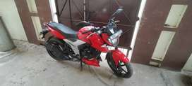 selling my Apache rtr 1604v in almost new condition