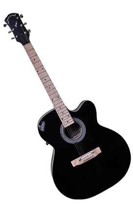 Signature guitar, Never used acoustic guitar. text rudrapjmc-gmail