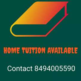 Home tuition available for 1st to 10th