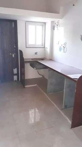 At Himmat Nagar 1st floor FROUNT side flat
