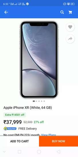 iPhone XR WHITE 64 GB