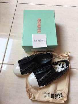 Preloved Sepatu Anak Original Mini Melissa Polibolha 2nd Fullset Bagus